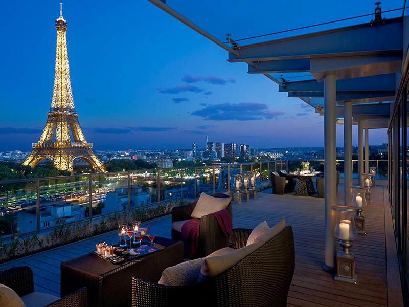 Les restaurants et hôtels les plus luxueux à visiter à Paris